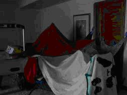 Make a tent fort