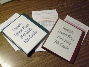 Lesson Plan Binders