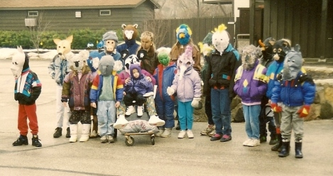 Australian and Asian Animal parade at Milw. Zoo 1990