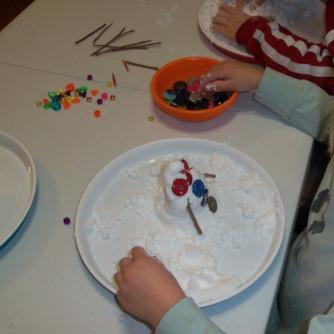 It made nice snowmen.